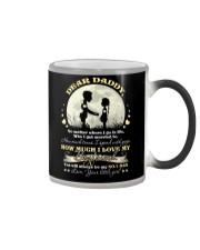 MUG - TO MY DAD - PIECE - NO MATTER WHERE Color Changing Mug thumbnail