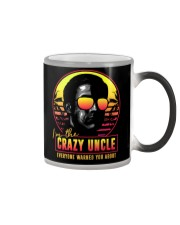 I'm the crazy uncle everyone warned you about Color Changing Mug thumbnail