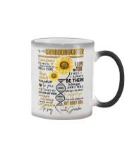 GRANDMA TO GRANDDAUGHTER Color Changing Mug thumbnail