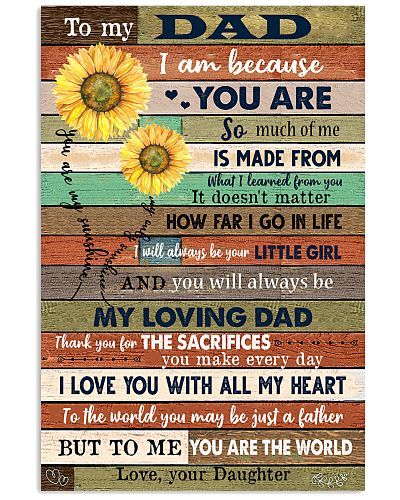 TO MY DAD - SUNFLOWER - MY LOVING FATHER
