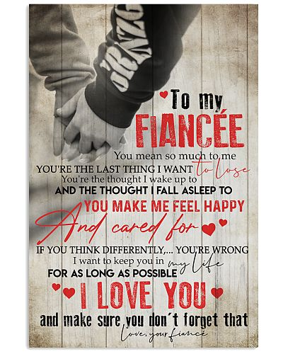 TO MY FIANCE'E