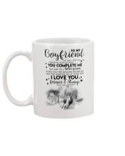 TO MY BOYFRIEND - HUNTING - THE DAY I MET YOU Mug back