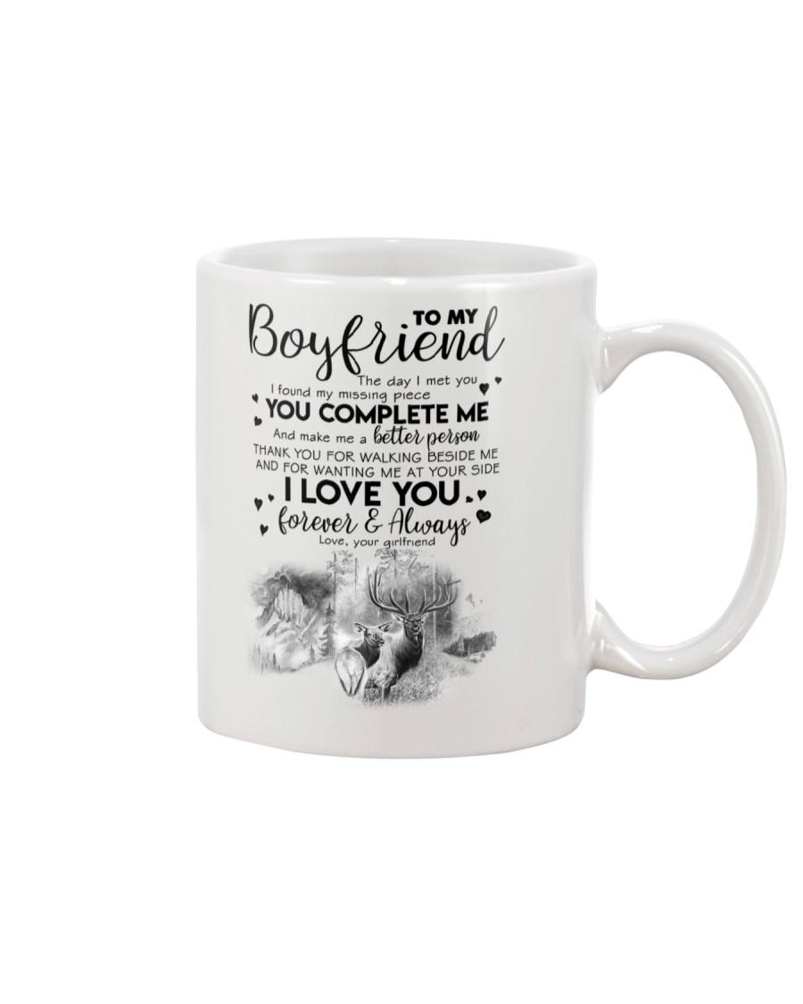 TO MY BOYFRIEND - HUNTING - THE DAY I MET YOU Mug