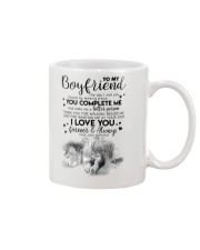 TO MY BOYFRIEND - HUNTING - THE DAY I MET YOU Mug front