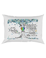 TO MY PARTNER IN LIFE Rectangular Pillowcase front