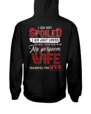 I'm Not Spoiled - T-shirt Hooded Sweatshirt thumbnail