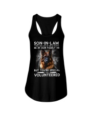 SON-IN-LAW - GERMAN SHEPHERD - YOU VOLUNTEERED Ladies Flowy Tank thumbnail