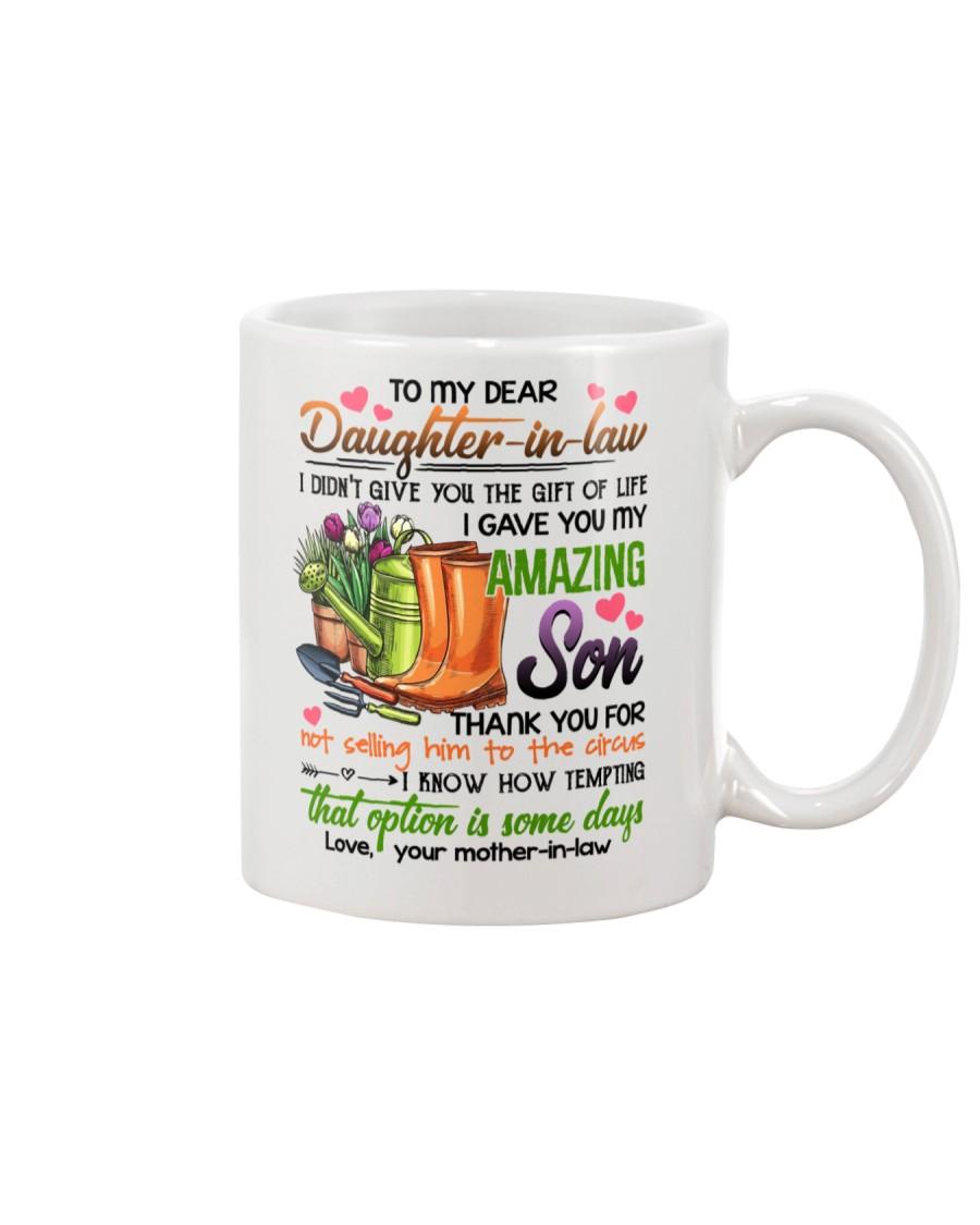 MUG - TO MY DAUGHTER-IN-LAW - GARDENING - CIRCUS Mug