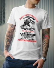 Some auntiesauruses Classic T-Shirt lifestyle-mens-crewneck-front-6