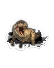 T-rex - Sticker Sticker - Single (Horizontal) front