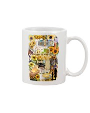 To My Daughter - Sunflower - Mug Mug front