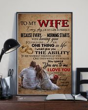 TO MY WIFE - LOVE TREE - I LOVE YOU 16x24 Poster lifestyle-poster-2