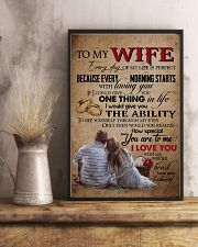 TO MY WIFE - LOVE TREE - I LOVE YOU 16x24 Poster lifestyle-poster-3