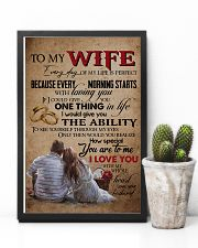 TO MY WIFE - LOVE TREE - I LOVE YOU 16x24 Poster lifestyle-poster-8