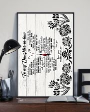 To Daughter-in-law - Butterfly - We Both Love 16x24 Poster lifestyle-poster-2