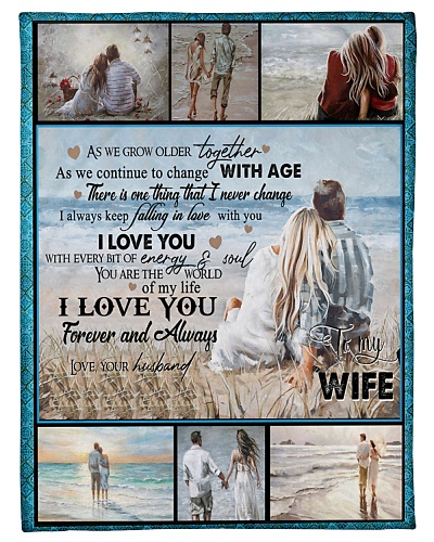 TO MY WIFE - COUPLE - I LOVE YOU