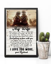 To My Wife - Sitting Together - I Asked God For 16x24 Poster lifestyle-poster-8
