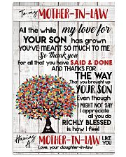 DAUGHTER TO MOTHER-IN-LAW 16x24 Poster front