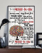 DAUGHTER TO MOTHER-IN-LAW 16x24 Poster lifestyle-poster-2