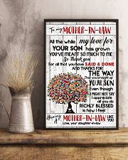 DAUGHTER TO MOTHER-IN-LAW 16x24 Poster lifestyle-poster-3