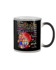 To My Daughter-in-law - Hippie - Circus - Mug Color Changing Mug tile