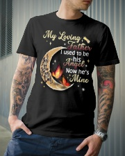 MY LOVING FATHER - BUTTERFLY - ANGEL Classic T-Shirt lifestyle-mens-crewneck-front-6