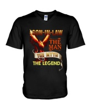 Son-in-law The man The myth The legend V-Neck T-Shirt thumbnail