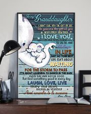 NANNY TO GRANDDAUGHTER 16x24 Poster lifestyle-poster-2