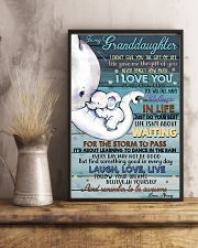 NANNY TO GRANDDAUGHTER 16x24 Poster lifestyle-poster-3