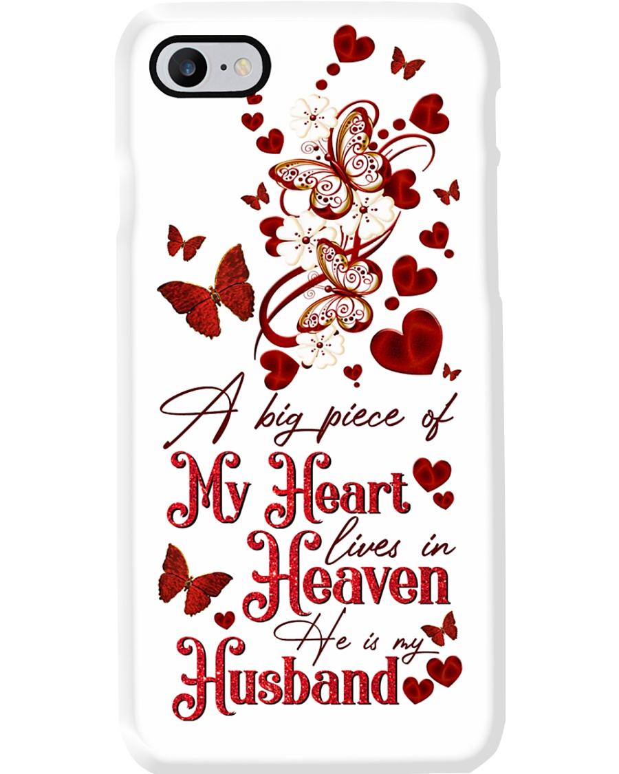 MY ANGEL HUSBAND - BUTTERFLY - A BIG PIECE  Phone Case