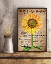 TO MY BEAUTIFUL DAUGHTER 16x24 Poster lifestyle-poster-3