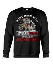 Grandpa and Grandma to Grandson - T-Shirt Crewneck Sweatshirt thumbnail