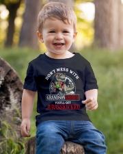 Grandpa and Grandma to Grandson - T-Shirt Youth T-Shirt lifestyle-youth-tshirt-front-4
