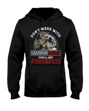 Grandpa and Grandma to Grandson - T-Shirt Hooded Sweatshirt thumbnail