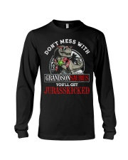 Grandpa and Grandma to Grandson - T-Shirt Long Sleeve Tee thumbnail