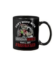 Grandpa and Grandma to Grandson - T-Shirt Mug thumbnail