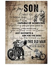 Son - Motorcycling - I Want You To Believe Deep  16x24 Poster front