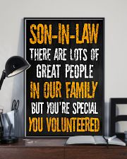 Son-in-law - You Volunteered - Poster 16x24 Poster lifestyle-poster-2