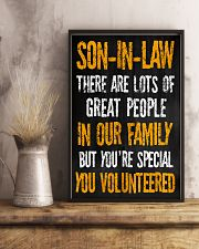Son-in-law - You Volunteered - Poster 16x24 Poster lifestyle-poster-3