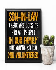 Son-in-law - You Volunteered - Poster 16x24 Poster lifestyle-poster-8