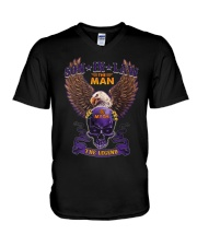 SON-IN-LAW - EAGLE - THE MAN THE MYTH THE LEGEND V-Neck T-Shirt thumbnail