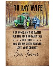 To My Wife - Farmer - You Are My Queen Forever 16x24 Poster front