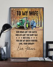 To My Wife - Farmer - You Are My Queen Forever 16x24 Poster lifestyle-poster-2