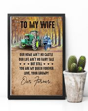 To My Wife - Farmer - You Are My Queen Forever 16x24 Poster lifestyle-poster-8