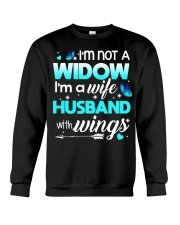I'm not a widow Crewneck Sweatshirt thumbnail