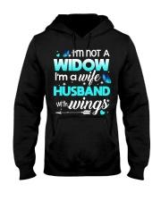 I'm not a widow Hooded Sweatshirt thumbnail