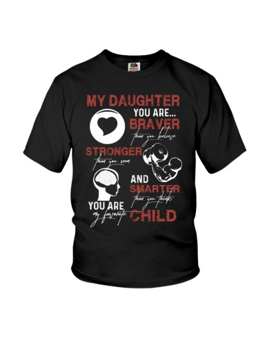 TO DAUGHTER - FAVORITE - CHILD