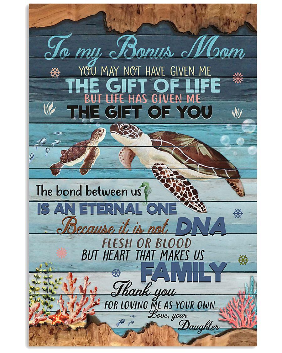 DAUGHTER TO BONUS MOM 16x24 Poster