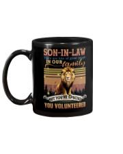 Son-in-law - Lion - You Volunteered - Poster Mug back