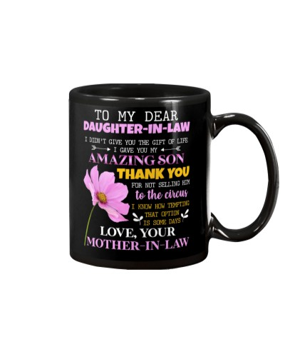 DAUGHTER-IN-LAW - PINK COSMOS FLOWER - CIRCUS